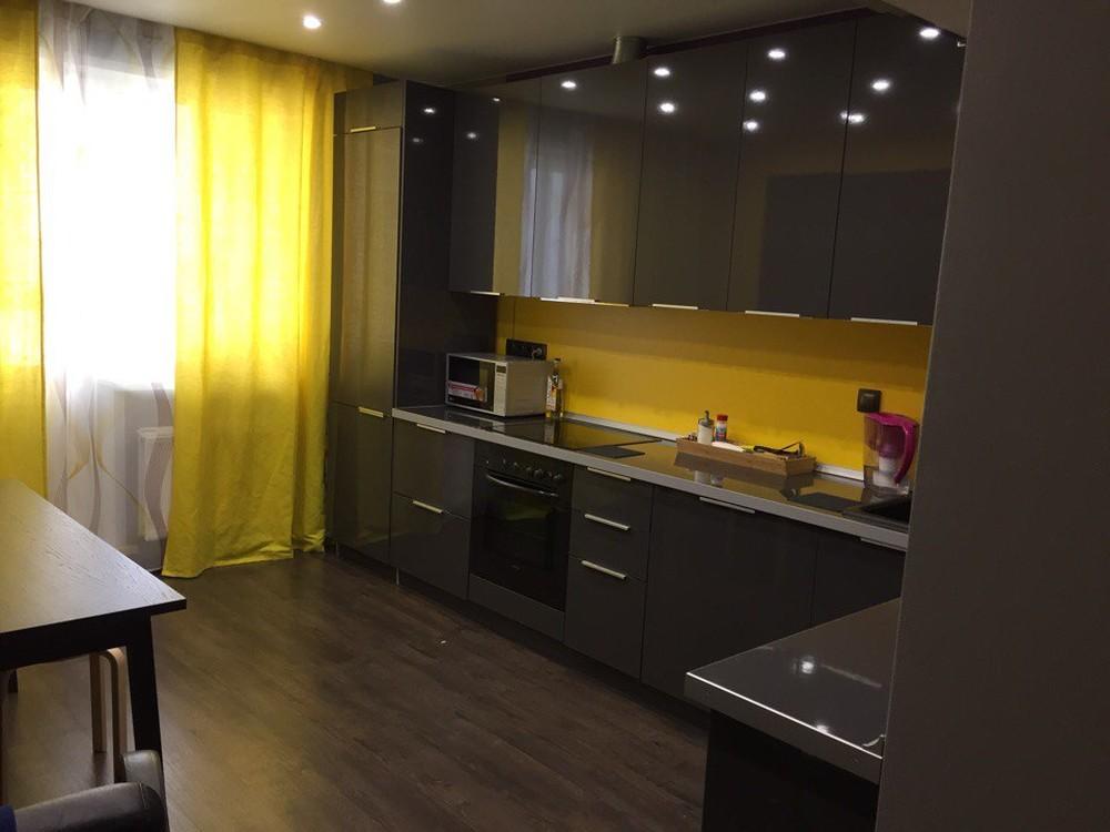 Встроенная кухня-Кухня МДФ в ПВХ «Модель 79»-фото3