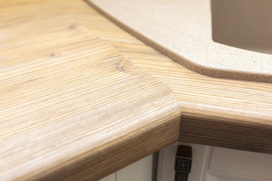 Белый кухонный гарнитур-Кухня МДФ в ПВХ «Модель 10»-фото12