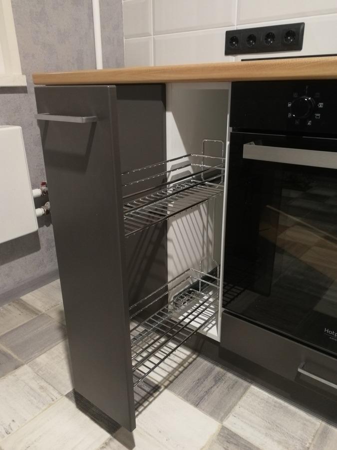 Купить зеленую кухню-Кухня МДФ в пластике «Модель 19»-фото6