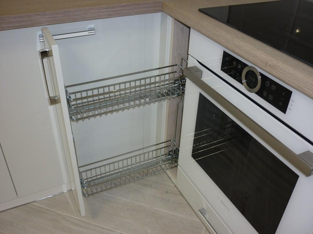 Акриловые кухни-Кухня из пластика «Модель 319»-фото7