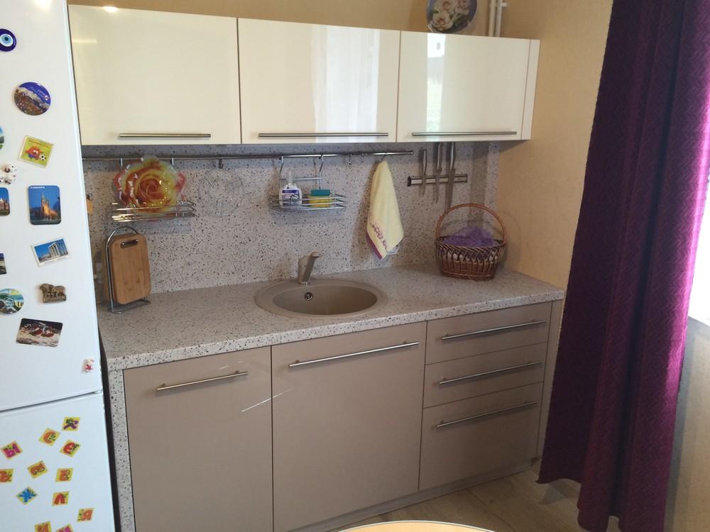 Акриловые кухни-Кухня из пластика «Модель 104»-фото13