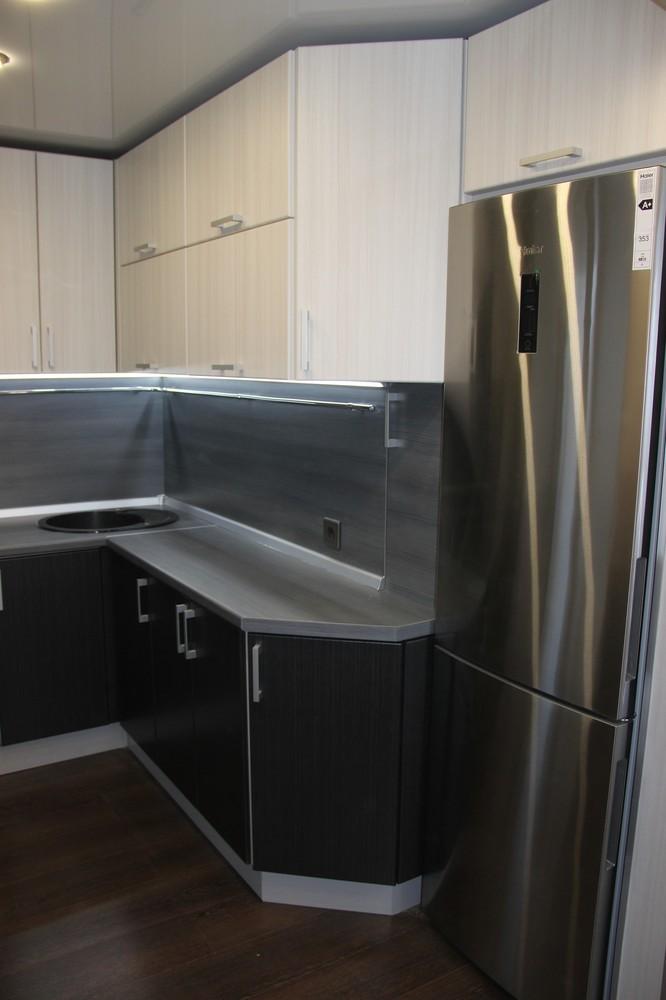 Встроенная кухня-Кухня МДФ в ПВХ «Модель 92»-фото3