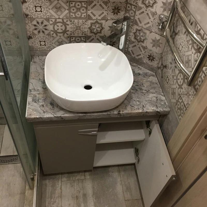 Мебель для ванной комнаты-Мебель для ванной «Модель 67»-фото4
