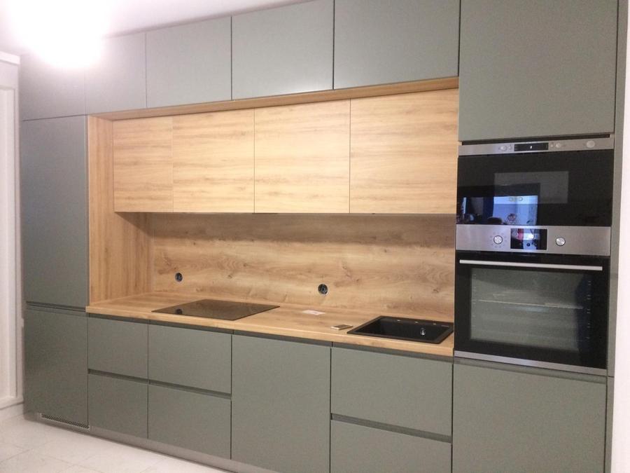 Купить кухню-Кухня МДФ в эмали «Модель 383»-фото1