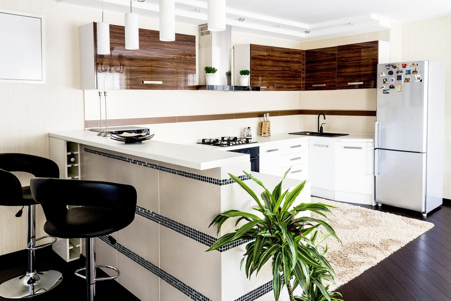 Акриловые кухни-Кухня из акрила «Модель 407»-фото3