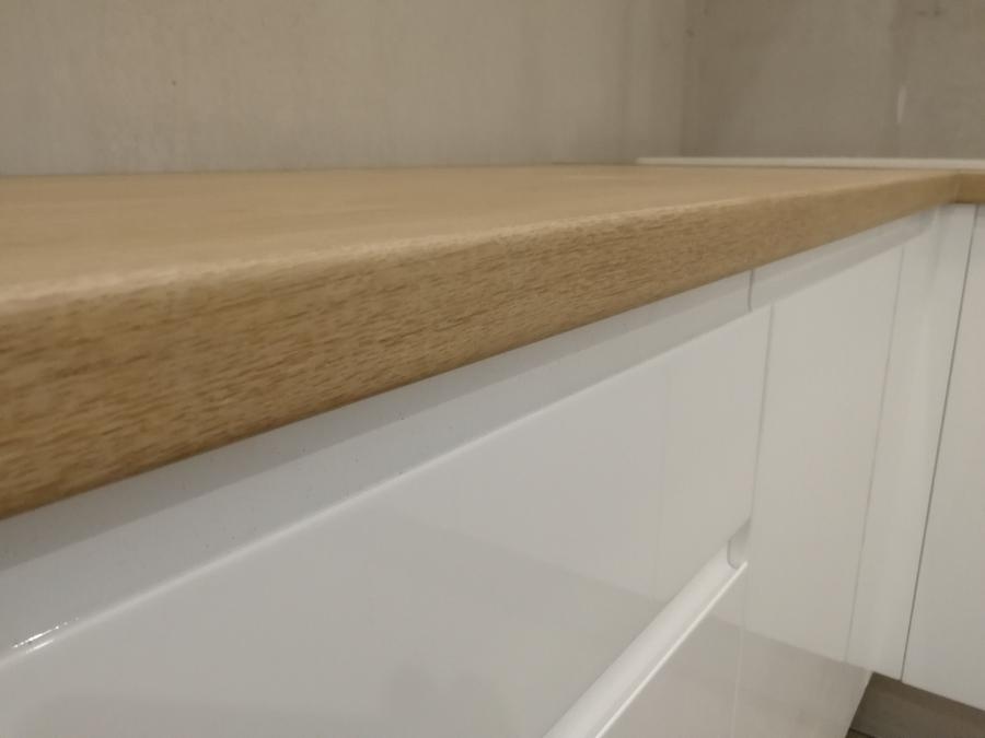 Белый кухонный гарнитур-Кухня МДФ в эмали «Модель 433»-фото6