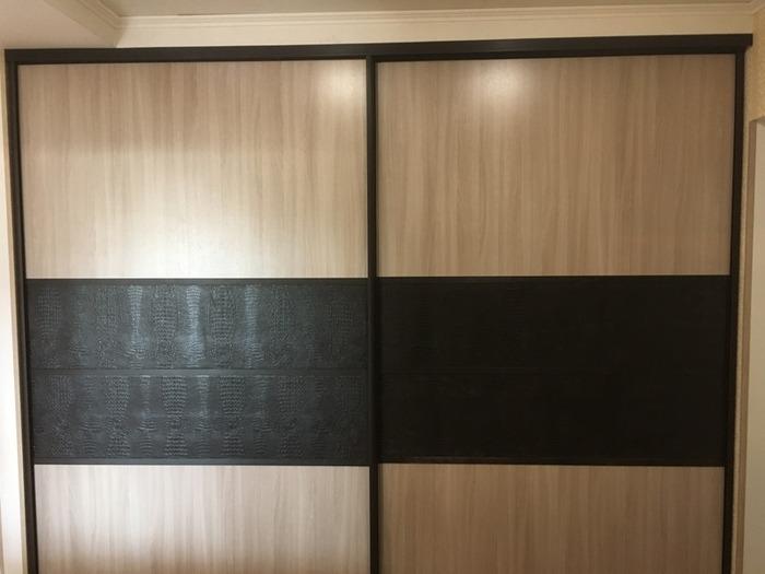 Встроенные шкафы-купе-Комбинированный шкаф-купе «Модель 31»-фото1