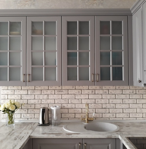-Кухня МДФ в эмали «Модель 281»-фото17