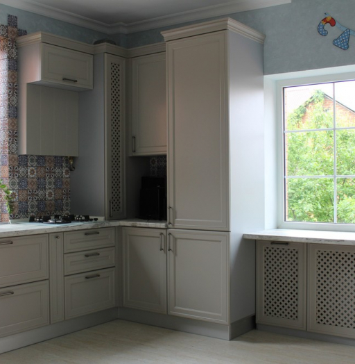 -Кухня МДФ в эмали «Модель 283»-фото11
