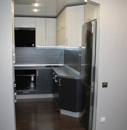 Встроенная кухня-Кухня МДФ в ПВХ «Модель 92»-фото5