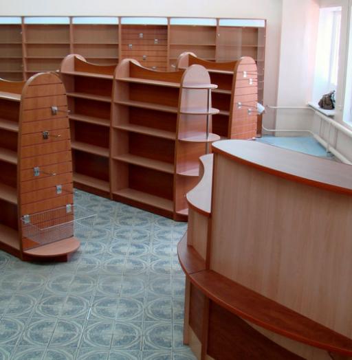 Торговая мебель-Мебель для магазина «Модель 12»-фото1