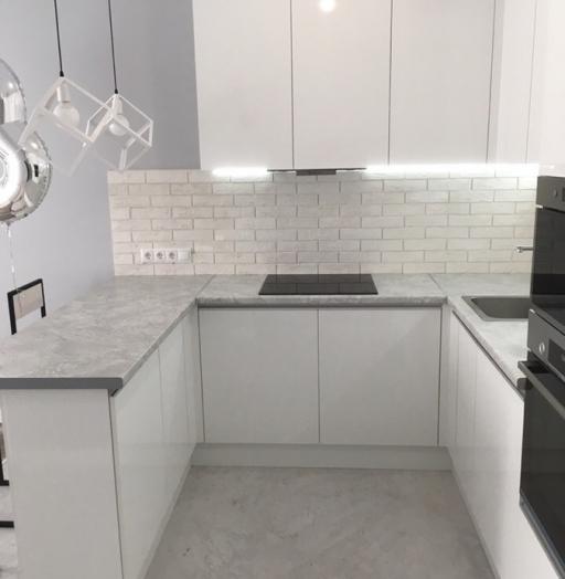-Кухня МДФ в эмали «Модель 431»-фото14