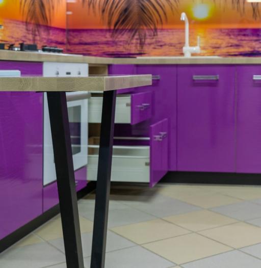 -Кухня МДФ в ПВХ «Модель 45»-фото26