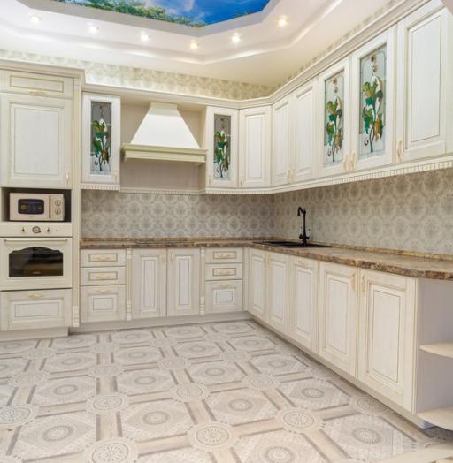 -Кухня из шпона «Модель 8»-фото4