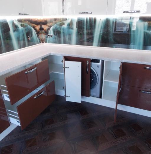 -Кухня из шпона «Модель 14»-фото6