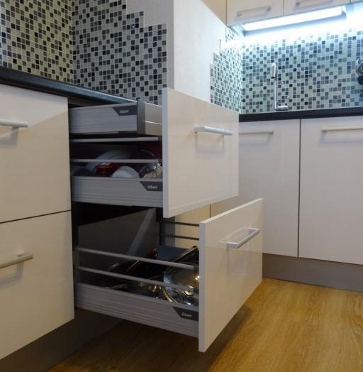 -Кухня из пластика «Модель 131»-фото23