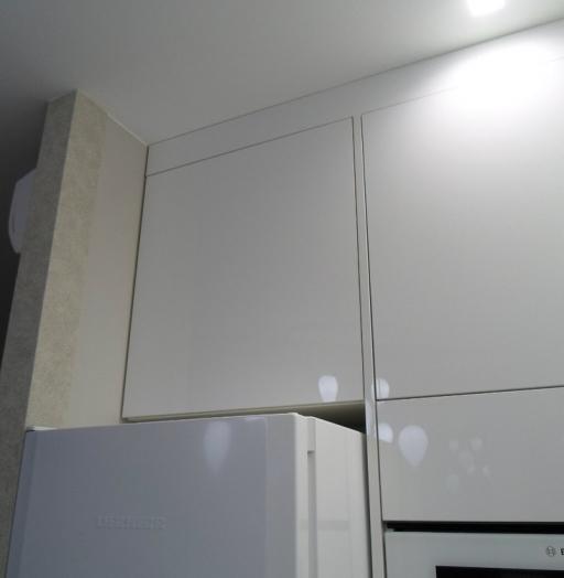 Акриловые кухни-Кухня МДФ в эмали «Модель 203»-фото10