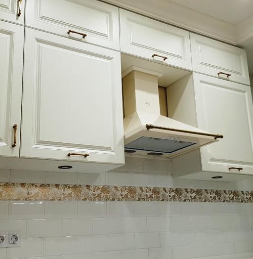 Белый кухонный гарнитур-Кухня МДФ в ПВХ «Модель 531»-фото7